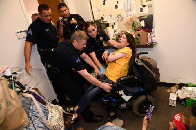 Health Care Protest Arrests